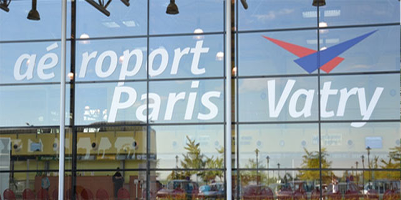 Transfert Aéroport Paris Vatry